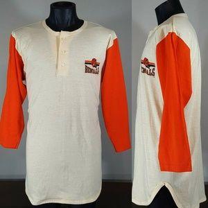 Vintage 80s Cincinnati Bengals Champion Henley XL